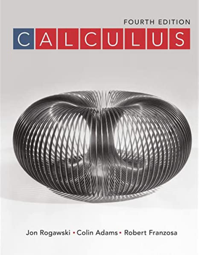 Cover art for Calculus, 4th Edition
