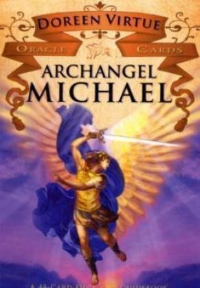 Archangel Michael Oracle Cards A 44-Card Deck and Guidebook Guide (Instructor's) 9781401922733 Front Cover