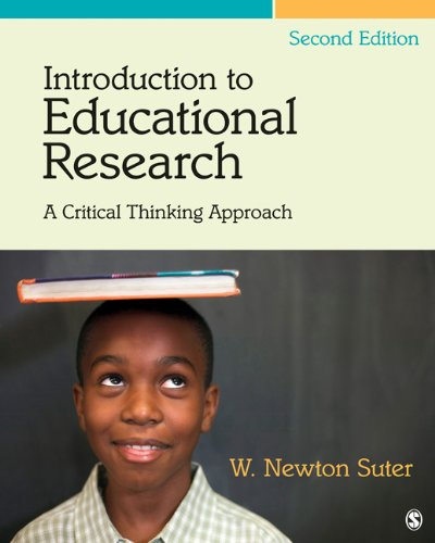 Introduction to Educational Research A Critical Thinking Approach 2nd 2012 edition cover