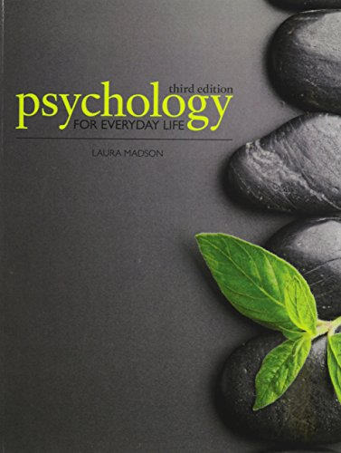 Psychology for Everyday Life  3rd (Revised) edition cover