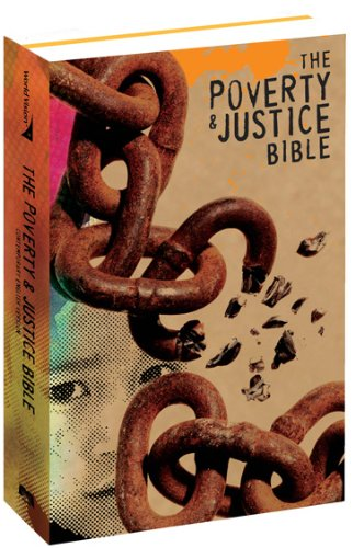 Poverty and Justice Bible Contemporary English Version  2009 edition cover