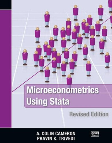 Microeconometrics Using Stata  2nd 2010 (Revised) edition cover