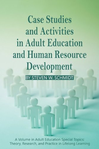 Case Studies and Activities in Adult Education and Human Resource Development   2010 edition cover