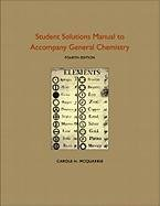 Student Solutions Manual to Accompany General Chemistry  4th 2010 edition cover