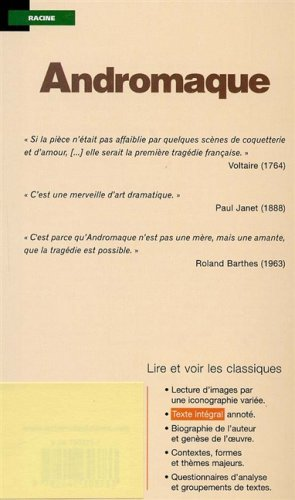 ANDROMAQUE N/A edition cover