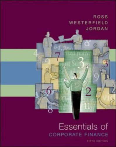 Essentials of Corporate Finance  5th 2007 (Revised) edition cover