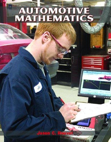 Automotive Mathematics   2007 edition cover