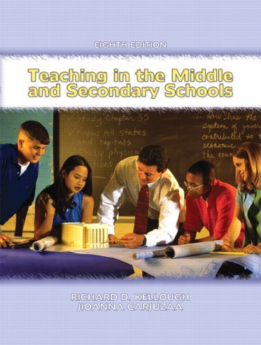 Teaching in the Middle and Secondary Schools  8th 2006 (Revised) edition cover