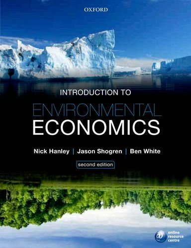 Introduction to Environmental Economics  2nd 2012 edition cover