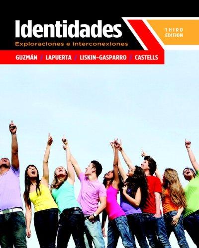 Identidades Exploraciones e Interconexiones 3rd 2013 edition cover