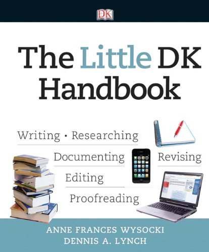 Little Dk Handbook Wriring- Researching -- Documenting - Revising - Editing - Proofreading  2012 edition cover
