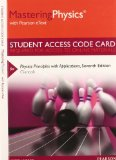 MasteringPhysics with Pearson EText -- Standalone Access Card -- for Physics Principles with Applications 7th 2014 edition cover