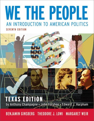 We the People An Introduction to American Politics 7th edition cover
