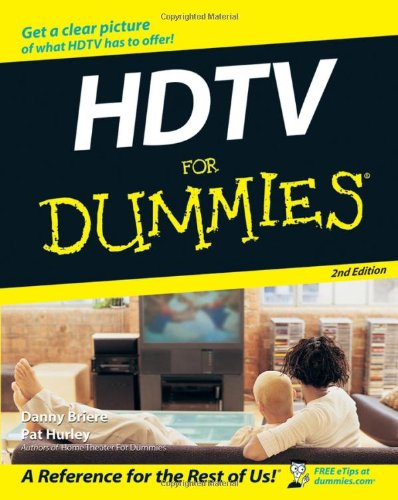 HDTV for Dummies  2nd 2007 (Revised) edition cover