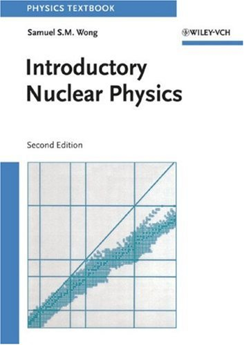 Introductory Nuclear Physics  2nd 1999 (Revised) 9780471239734 Front Cover