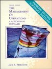Management of Operations A Conceptual Emphasis 4th 1992 (Revised) 9780471549734 Front Cover