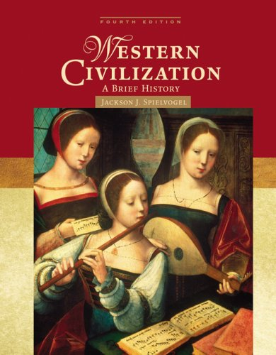Western Civilization A Brief History 4th 2008 (Revised) edition cover