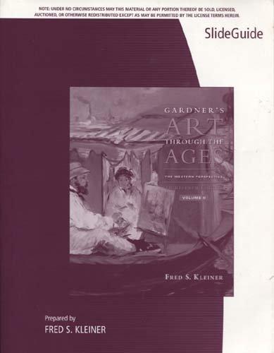 GARDNER'S ART..:WESTERN-SLIDE N/A 9780495792734 Front Cover