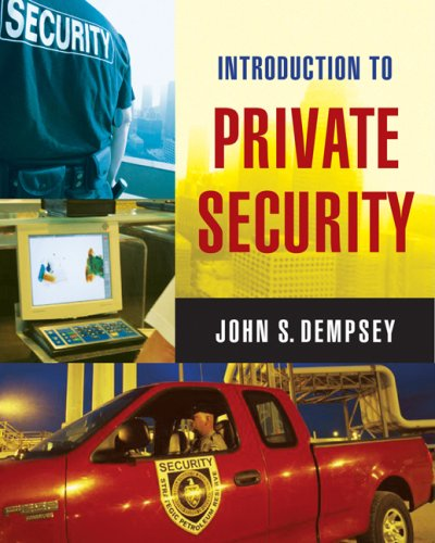 Introduction to Private Security   2008 edition cover