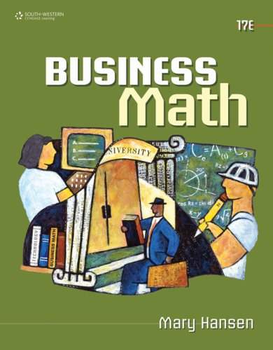 Business Math  17th 2010 edition cover