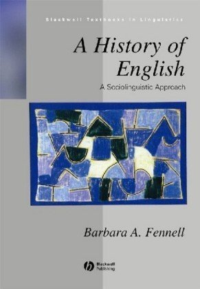 History of English A Sociolinguistic Approach  2001 edition cover