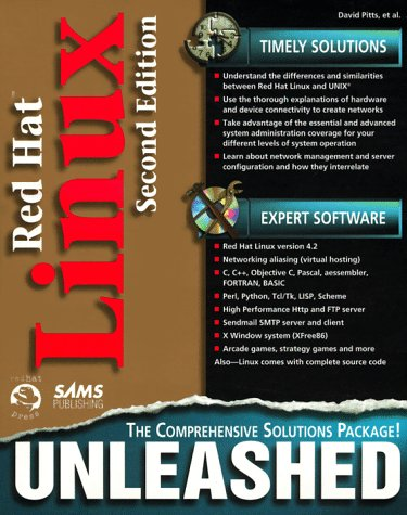 Red Hat Linux Unleashed  2nd 1997 9780672311734 Front Cover