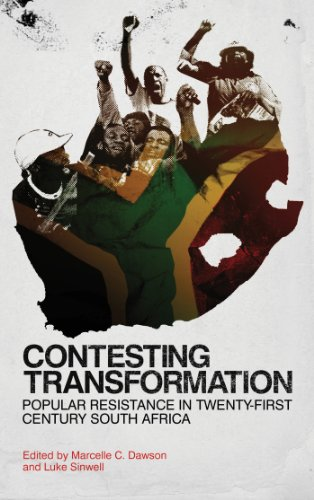 Contesting Transformation Popular Resistance in Twenty-First Century South Africa  2012 9780745332734 Front Cover