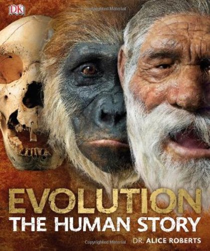 Evolution The Human Story N/A edition cover