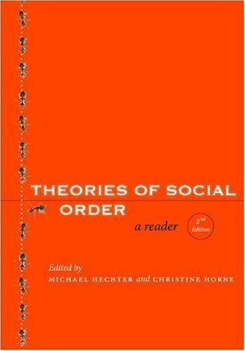 Theories of Social Order A Reader, Second Edition 2nd 2009 edition cover