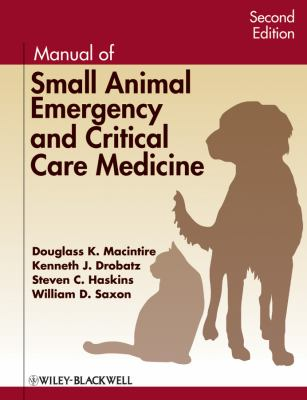 Manual of Small Animal Emergency and Critical Care Medicine  2nd 2012 edition cover