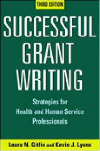 Successful Grant Writing Strategies for Health and Human Service Professionals 3rd 2008 edition cover