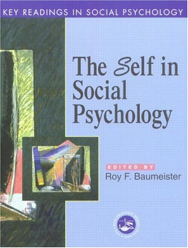 Self in Social Psychology Key Readings in Social Psychology  2000 edition cover