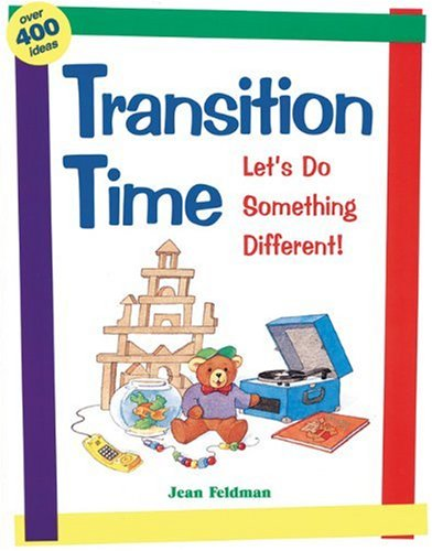 Transition Time Let's Do Something Different N/A edition cover