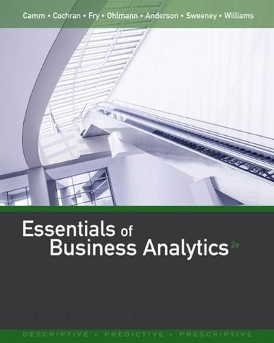 Essentials of Business Analytics:   2016 edition cover