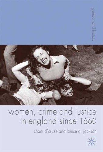 Women, Crime and Justice in England since 1660   2009 9781403989734 Front Cover