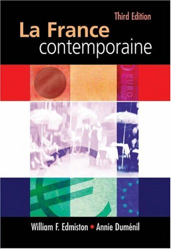 France Contemporaine  3rd 2005 (Revised) edition cover