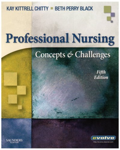 Professional Nursing Concepts and Challenges 5th 2007 (Revised) edition cover