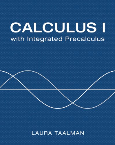 Calculus I With Integrated Precalculus:   2013 edition cover