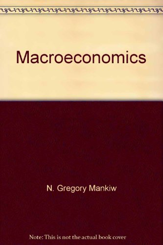 Macroeconomics Canadian Edition 2nd 2001 9781572599734 Front Cover