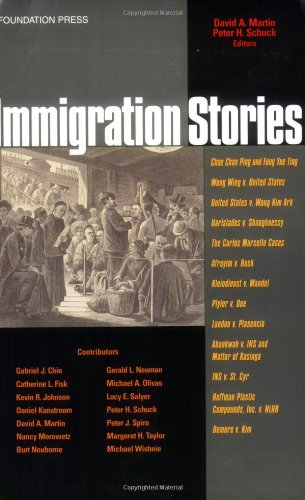 Immigration Stories   2005 edition cover