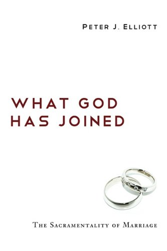 What God Has Joined The Sacramentality of Marriage N/A edition cover