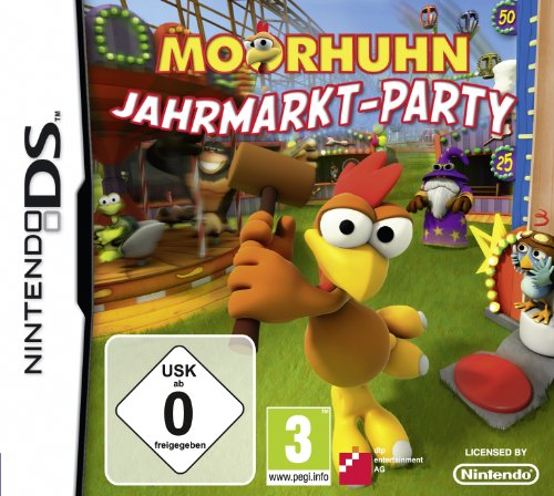 Moorhuhn - Jahrmarkt Party Nintendo DS artwork