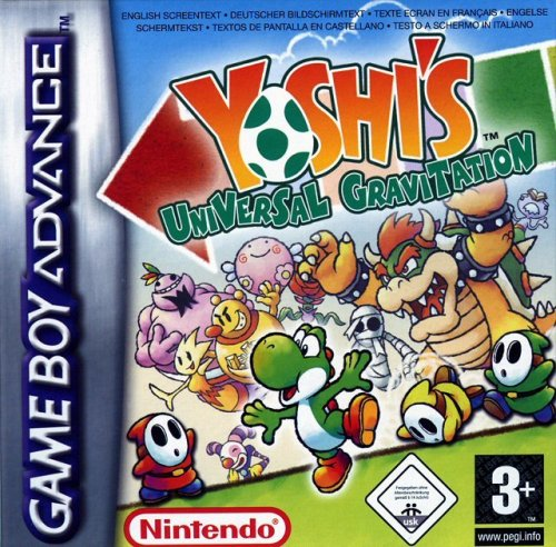 Yoshi Topsy-Turvy Game Boy Advance artwork