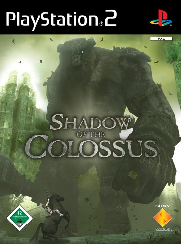 Shadow of the Colossus PlayStation2 artwork
