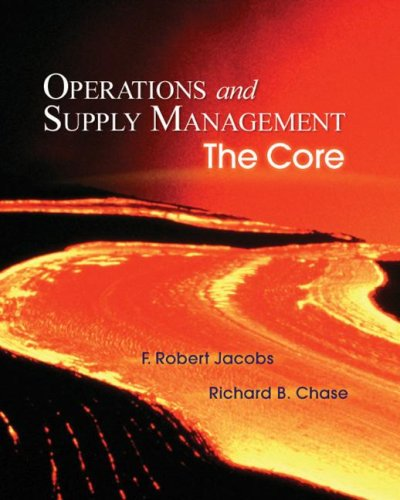Operations and Supply Management with Student DVD-ROM   2008 edition cover
