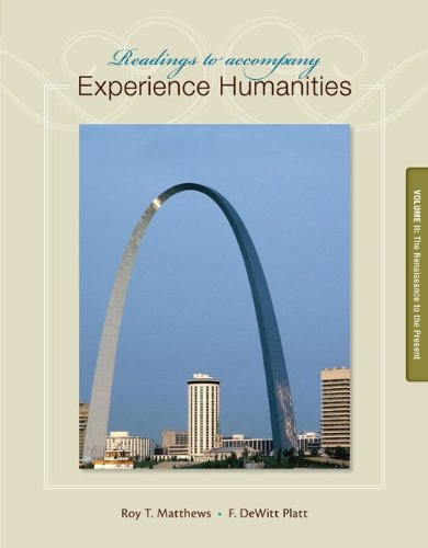Experience Humanities  8th 2014 edition cover
