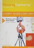 MasteringEngineering with Pearson EText -- Standalone Access Card -- for Mechanics of Materials  9th 2014 edition cover