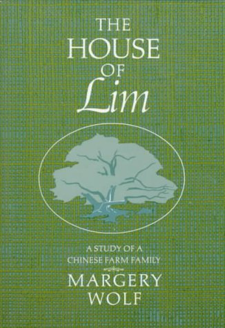 House of Lim A Study of a Chinese Family  1960 edition cover