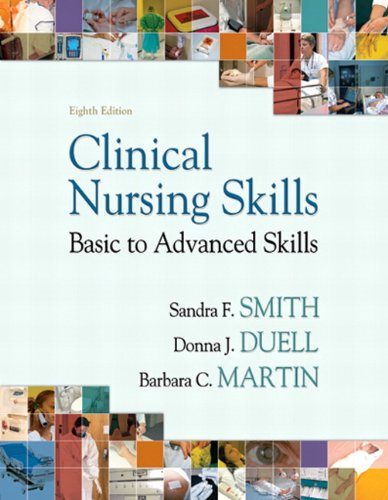 Clinical Nursing Skills  8th 2012 edition cover