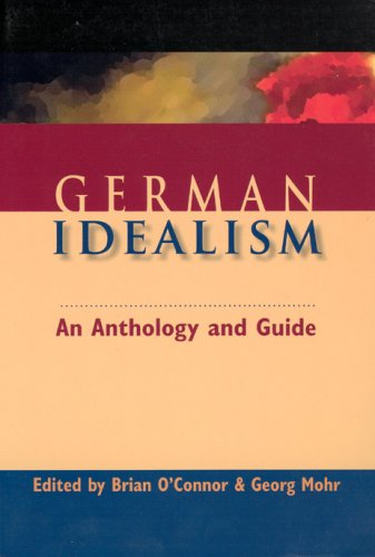 German Idealism An Anthology and Guide  2006 edition cover